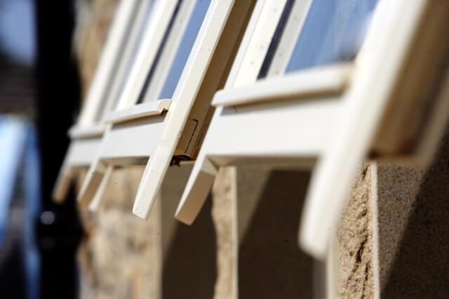 Imitation Sliding Sash (detail)