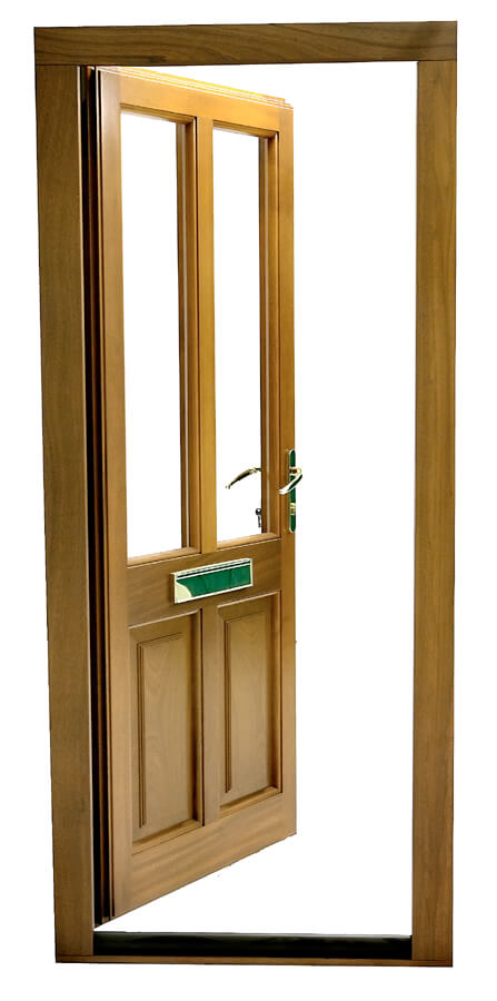 68mm Ready Hung Door Set (With Double Weather Seals)