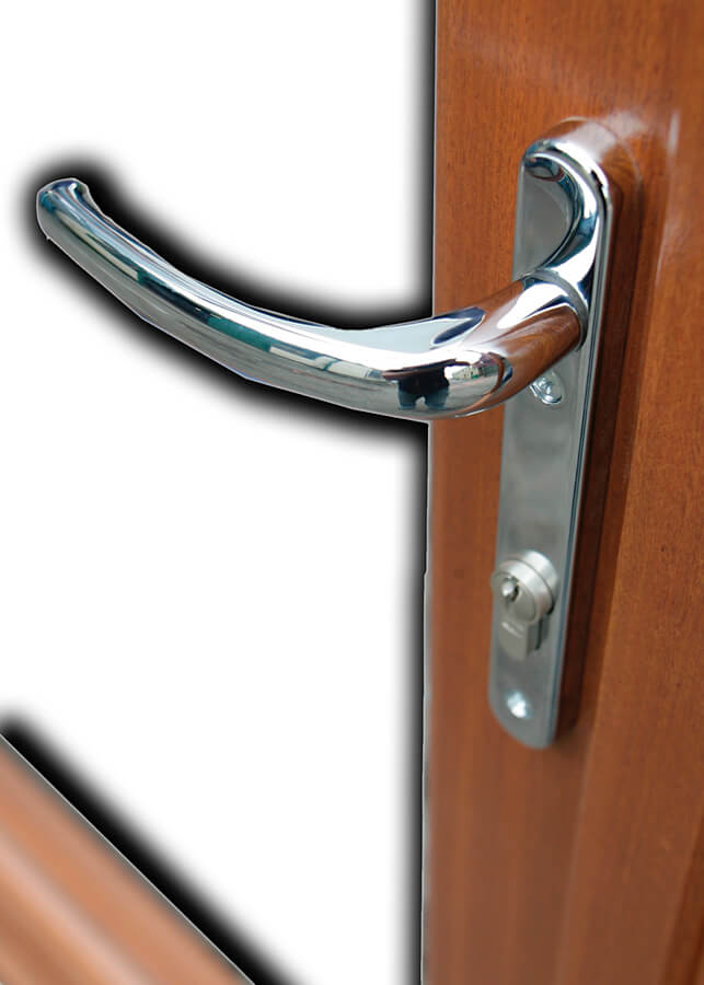 Detail of Standard Chrome Handle