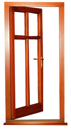 Ready Hung Door Set (open)